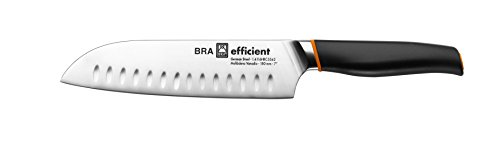Bra Efficient Cuchillo Santoku, Acero Inoxidable, Gris, 3x5x34 cm