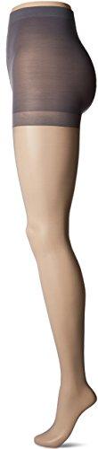 Berkshire Damen Plus-Size Queen Ultra Sheer Control Top Pantyhose Strumpfhose, Cadet Blue, 5X / 6X - Queen Pantyhose