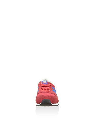 New Balance U420 D, Baskets mode mixte adulte rouge bleu