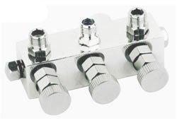 Luft-Verteiler für 3 Schläuche 1/8 Airbrush Fengda® BD-13-3