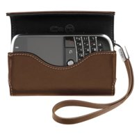 BlackBerry Bold 9000 Leder Folio, braun / brown Blackberry Leather Horizontal Pouch