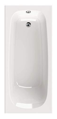 Calmwaters - Baluan - 170 x 75 cm kleine Badewanne aus Acryl mit rechteckiger Körperform - 02SL3012
