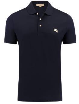 Burberry Brit Herren Polo, Schwarz Poloshirt T-Shirt Größe XXL