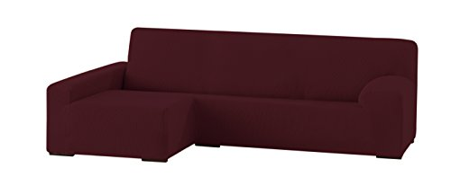 Eysa Funda chaise longue elástica Granate 250-310