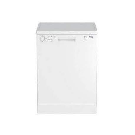 Beko DFN113 lave-vaisselle Autonome 13 places A+ - Lave-vaisselles (Autonome, Blanc, Boutons, Rotatif, Acier inoxydable, 13 places, 48 dB)