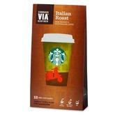 Starbucks Via Italian Road Ready Brew Instant Coffee, 12 Sachets, Dark Instant Microground Coffee by Starbucks Via