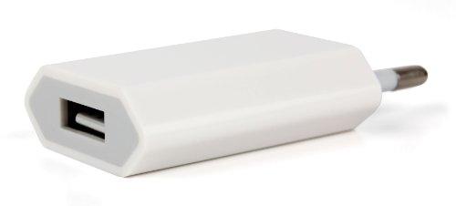 DURAGADGET Weißes Wandladegerät mit USB-Eingang zum Aufladen von Lamax Drive C3 | C7 und Tomtom VIO Motorroller | Go 520 + 5200 + 620 + 6200 Navigationssysteme