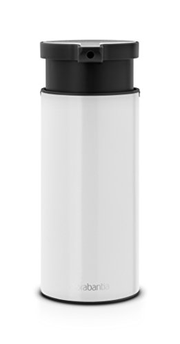 Brabantia 108181 - Dispensador de jabón, Color Blanco