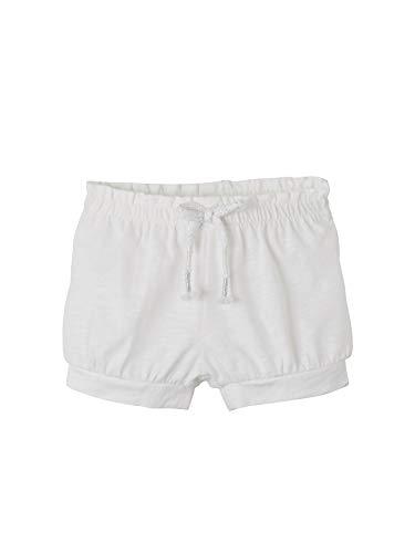 Vertbaudet Jersey-Shorts für Baby Mädchen weiß 80