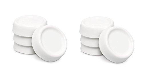 Kühlschrank Vibrationsdämpfer : Preiswert 8x gummipuffer wachmaschine trockner gummidämpfer