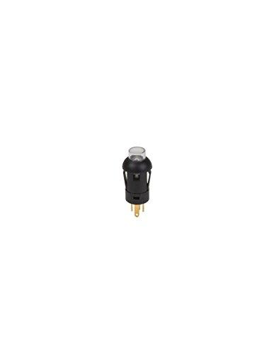 Velleman - R1360R Schieber-Miniatur-Rund-SPST (allum-Teint)-1P-mit cbles- 174186 -