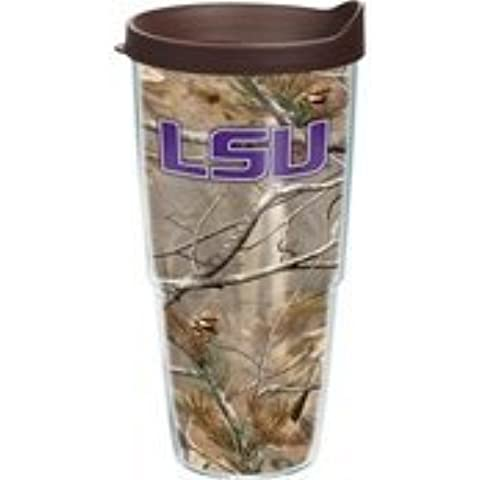 Tervis Tumbler Louisiana State LSU Tigers Realtree Camo Wrap 24oz with Travel Lid by Tervis