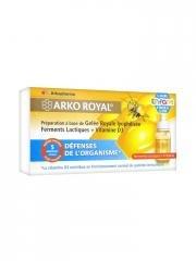 Arkopharma Arko Royal Produits de la Ruche Défenses Naturelles pour Enfants Dès 6 Ans 5 Milliards Ferments Lactiques 5 Doses 10 ml