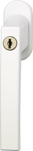 ABUS Fenstergriff abschließbar FG210, Triples Set-3-Stück gleichschließend, weiß
