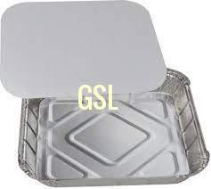 GSL 25 ALUMINIUM FOIL FOOD STORAGE CONTAINERS & LIDS.