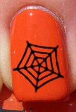 Halloween Toile d'araignée - Stickers pour ongles YRNAILS