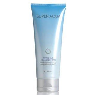 Missha Super Aqua Refreshing Cleansing Foam 6.76oz/200ml [Misc.]