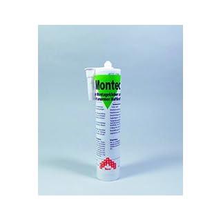 Ambratec Montec Montagekleber und Dichtstoff Verklebung schwerer Teile, UV-Beständig, Lösemittelfrei, Verkleben unter Wasser
