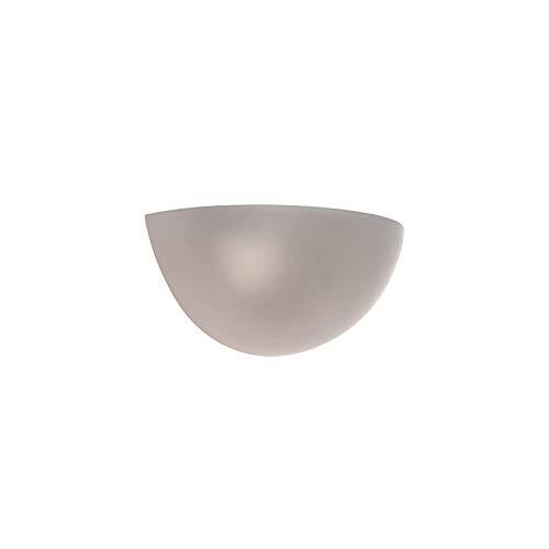 QAZQA Moderne Applique murale Concrete Pierre/béton Gris Rond/Globe E14 Max. 1 x 40 Watt/Luminaire/Lumiere/Éclairage/intérieur/Salon/Cuisine