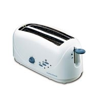 Morphy Richards AT-401 4-Slice Pop-Up Toaster (White )
