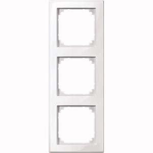Preisvergleich Produktbild Merten M-SMART-Rahmen, 3 fach, polarweiß glänzend, 478319