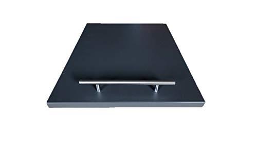 +d gleitbrett für Thermomix® Schiefergrau 40x30x2cm
