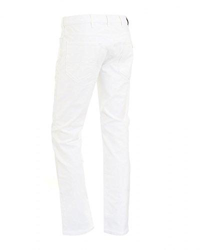 Armani Jeans Herren Jeanshose weiß weiß Weiß