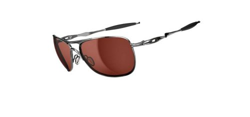 Oakley Crosshair occhiali da sole da uomo, Uomo, Crosshair, Polished Chrome/Vr28 Black Iridium, 61