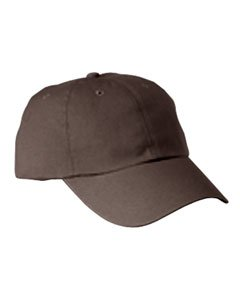 6-panel-garment Washed Twill (6-Panel Washed Twill Low-Profile Cap COFFEE OS)