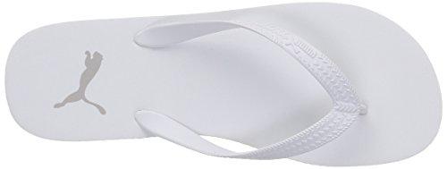 Puma 360252, Infradito Unisex Adulto Bianco (White-Gray Violet 04)