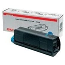 Oki Tóner cartuchos de impresora C6 42127407 Cian blueâ Â C5100N C5100 C5200 C5300 C5400