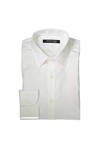 Guess Marciano 64H4024416Z Camicia Maniche Lunghe Harren Weiß A009 45