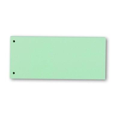 Trennstreifen, 10,5x24cm, blau, 190g Karton, 100St