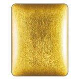 NavJack Glas Faser Hard Shell Case mit Reinigungstuch gefüttert Innen Gesicht für iPad Corium-Glitzer Fasern-Gold (nj-j012-44)