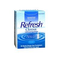 Refresh Refresh Classic Lubricant Eye Drops Single-Use Containers, 30 ct (Pack of 3) by Refresh (Single Use Container)