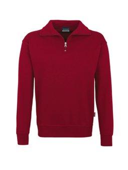 HAKRO Zip-Sweatshirt, weinrot, Größen: XS - XXXL Version: L - Größe L