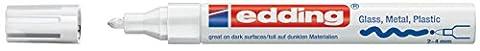 edding Glanzlack-Marker creative 750, 2 - 4 mm, weiß