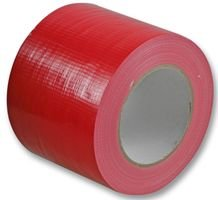 WATERPROOF CLOTH GAFFER TAPE RED 100MM 3140RED By PRO POWER