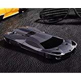 omorro iPhone 5G/6G/6P Fall, Mode cool Neu 3D Schnelle Roadster Sport Race Car geformtes Etui mit Ständer Halter Hard Schutzhülle für Apple iPhone 5G/6G/6P, iPhone6 Plus/6S Plus 5.5, schwarz