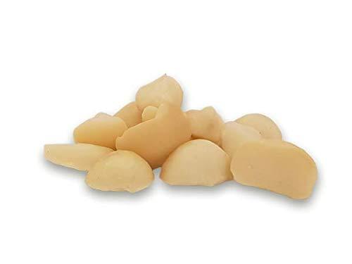 Bio Macadamia Kerne Bruch 500g gebrochene Nüsse Hälften und Stückchen, toller Geschmack, ideal für Müslis und zum Mischen, Rohkost, ungeröstet und ungesalzen