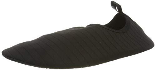 HMIYA Unisex Badeschuhe-Strandschuhe-Aquaschuhe Barfuß Schwarz01, Gr.- 39-40 EU/Herstellergröße: 40-41