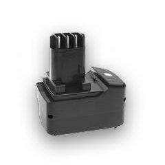 Qualitätsakku - Akku für Metabo Akkuschrauber BST12 Impuls - 2000mAh - 12V - NiCd von Heib