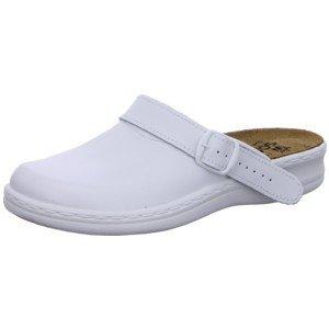 Quick-Schuh 1000015, Mules pour Femme Blanc