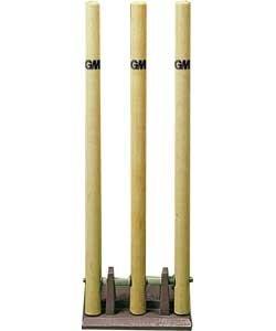 GUNN & MOORE Spring Rückseite Cricket-Stumps.