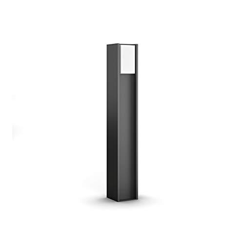 Philips Hue LED Wegeleuchte Turaco für den Aussenbereich, dimmbar, warmweißes Licht, steuerbar via App, kompatibel mit Amazon Alexa (Echo, Echo Dot)