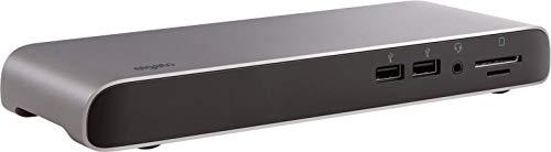 Elgato Thunderbolt 3 Pro - Dock con Cable de 70 cm, 2X Thunderbolt 3  (USB-C), 4X USB, Lector de Tarjetas SD/Micro SD (UHS-II), Entrada/Salida de  Audio