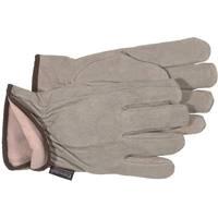 BOSS Handschuhe Boss Therm isoliert Split Rindsleder Treiber, kleine, L, hautfarben, 1