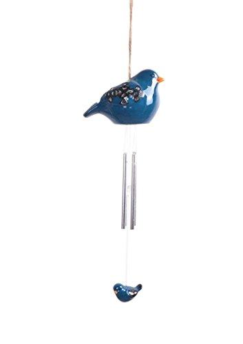d Windbell Leichte Solar Bird Farbe wechselnde LED-Windspiel für Park, Terrasse, Deck, Hof, Garten, Home, Weg, Außerhalb Landschaft Dekoration und Celebration–Blau (Halloween-dekorationen Hof Außerhalb)