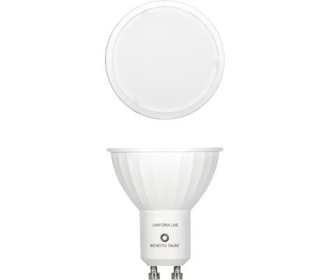 GU10 6W 220V 120º DIMMABLE LED de Beneito Faure - Blanco natural, GU1