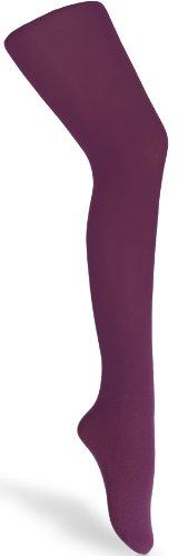 Merry Style Merry Style Kinder Strumpfhose für Mädchen Microfaser 60 DEN (Alpen Violett, 104-110)